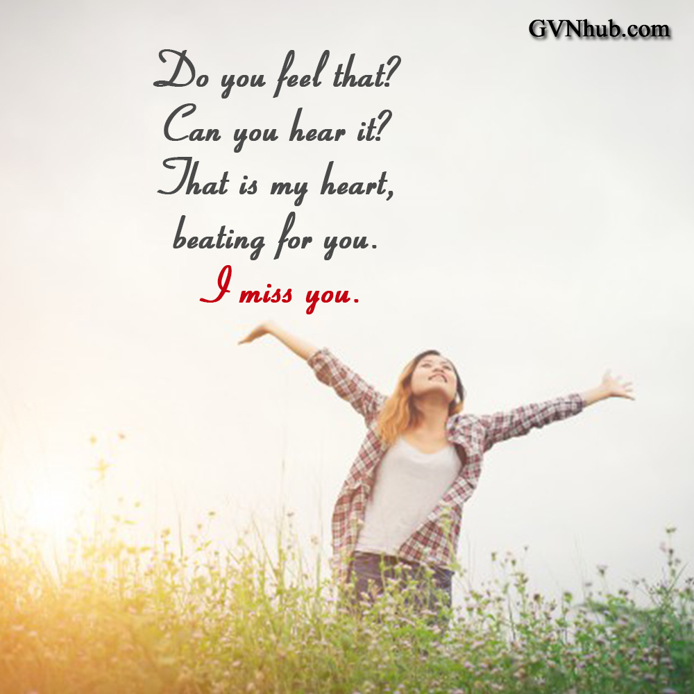 I Miss You Messages for Girlfriend: Missing You Quotes for He - GVN Hub
